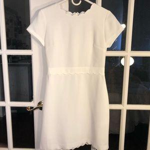 Club Monaco Santina Dress in White